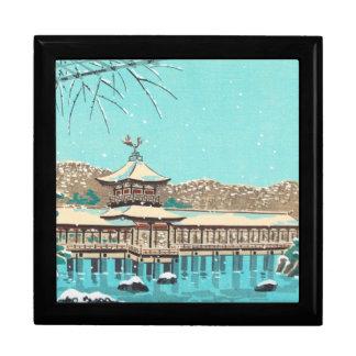The Gardens of Heian Shrine Tokuriki Tomikichiro Jewelry Box