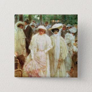 The Gardens of Paris Pinback Button