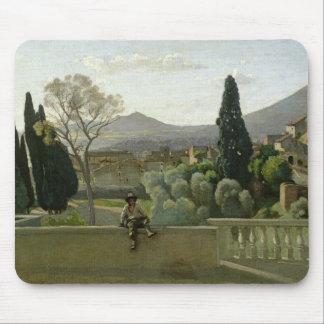 The Gardens of the Villa d'Este, Tivoli, 1843 Mouse Pad