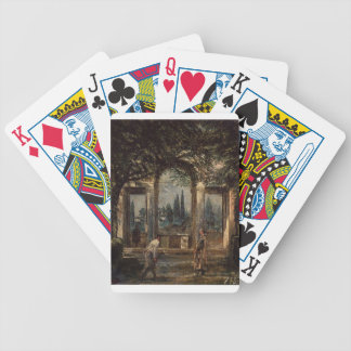 The Gardens of the Villa Medici in Rome by Diego Bicycle Playing Cards