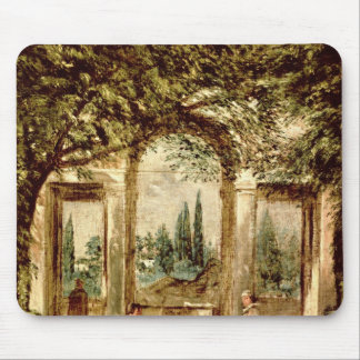 The Gardens of the Villa Medici in Rome Mouse Pad