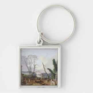 The Gardens of Versailles Keychain