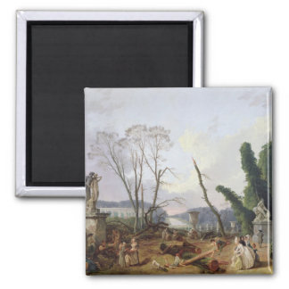 The Gardens of Versailles Magnet