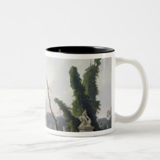The Gardens of Versailles Two-Tone Coffee Mug