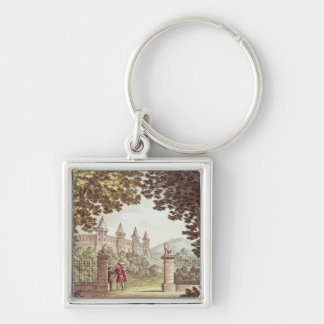 The Gardens of Windsor Castle Keychain