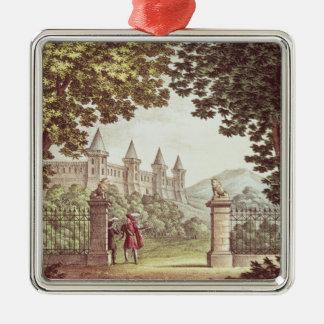 The Gardens of Windsor Castle Metal Ornament