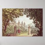 The Gardens of Windsor Castle Poster