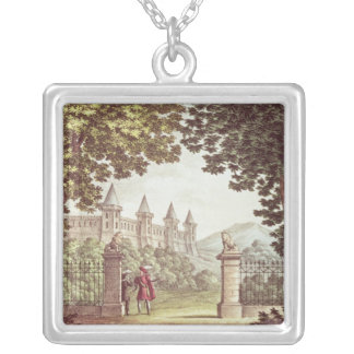 The Gardens of Windsor Castle Silver Plated Necklace