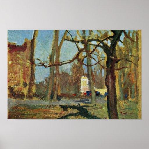 """The Gardens' Planty """"In Krakow"""" By Stanislawski Ja Print"""