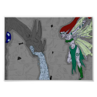 The Gargoyle and the Fairy Poster