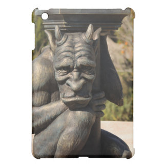 the gargoyle lamp post in front of the beast casle case for the iPad mini