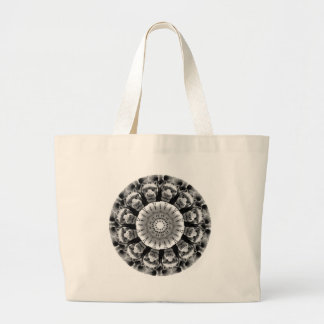 The Gargoyle Rosette Shopping Bag