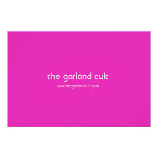 the garland cult poster