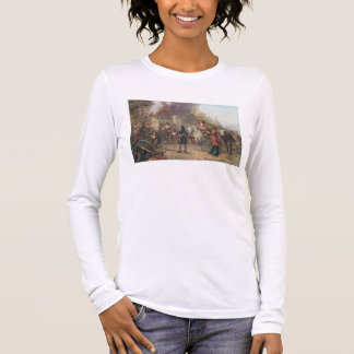 The Garrison of the Village Had At Last Surrendere Long Sleeve T-Shirt