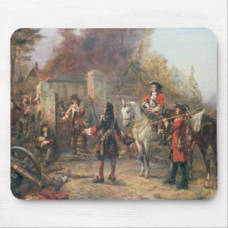 The Garrison of the Village Had At Last Surrendere Mouse Pad