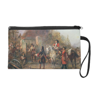 The Garrison of the Village Had At Last Surrendere Wristlet Purse