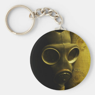 The gas mask keychain