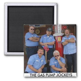 The Gas Pump Jockeys Magnet