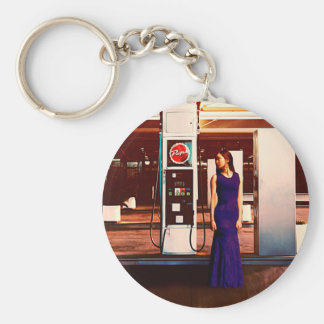 The Gas Station Keychain