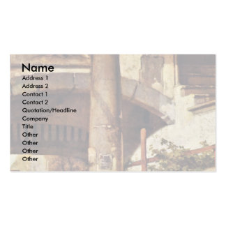 The Gate Guard (Old Version) By Fabritius Carel Double-Sided Standard Business Cards (Pack Of 100)