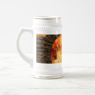 The gate into another fantasy world beer stein