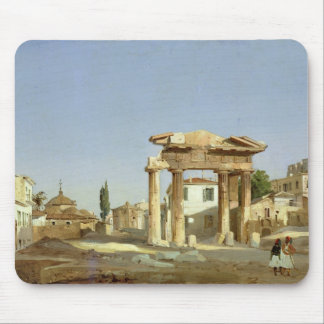 The Gate of Agora in Athens, 1843 Mouse Pad