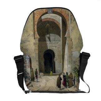 The Gate of Justice, entrance to the Alhambra, Gra Messenger Bags