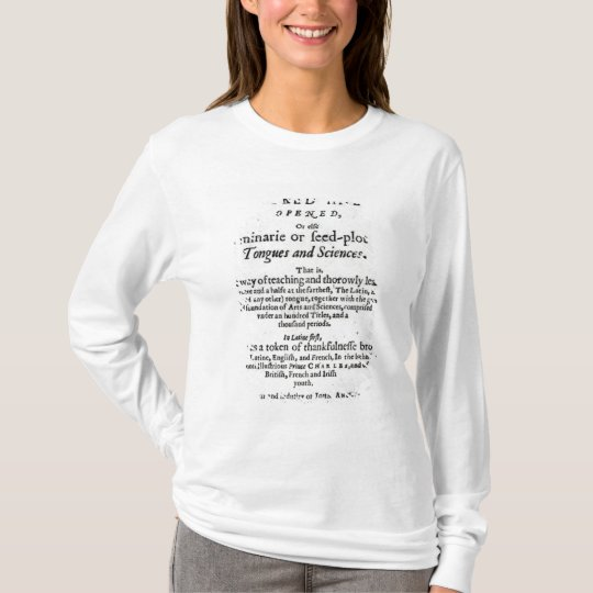 The Gate of Tongues Unlocked', 1631 T-Shirt