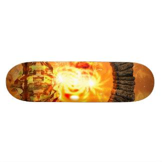 The gate skateboard deck