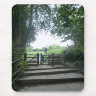 The Gate to Glastonbury Tor Mouse Pad