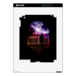 The Gate to Society iPad 2 Decal