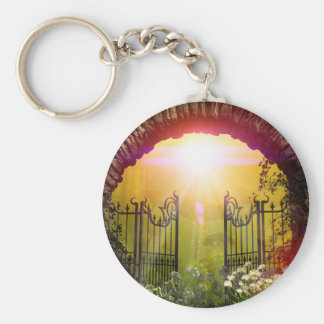 The gate to the land of dreams keychain