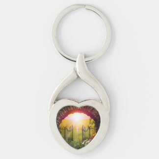 The gate to the land of dreams key chains