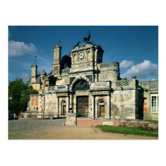 The gatehouse postcard