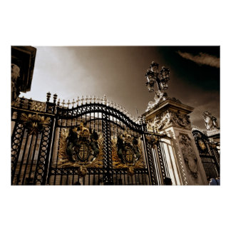 The Gates of Buckingham Palace Poster