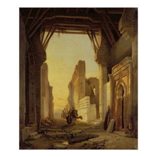 The Gates of El Geber in Morocco Poster