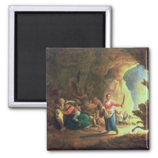 The Gates of Hades 2 Inch Square Magnet