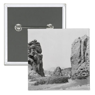 The Gateway and Pike's Peak Pinback Button