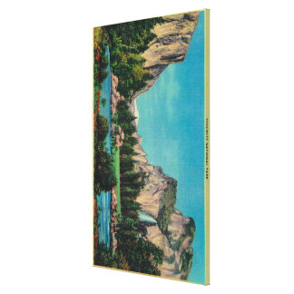 The Gateway from Bridal Veil Meadows Canvas Print