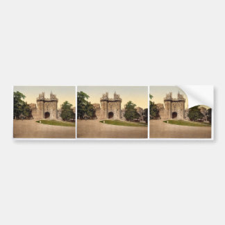 The gateway Lancaster Castle England classic Pho Bumper Stickers