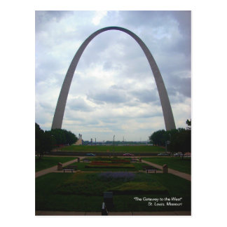 """""""The Gateway to the West"""" Postcard"""