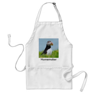 The Gatherer Puffin Adult Apron