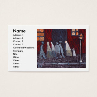 THE GATHERING, Name, Address 1, Address 2, Cont... Business Card