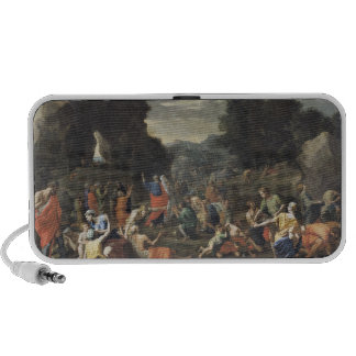 The Gathering of Manna, c.1637-9 iPod Speakers
