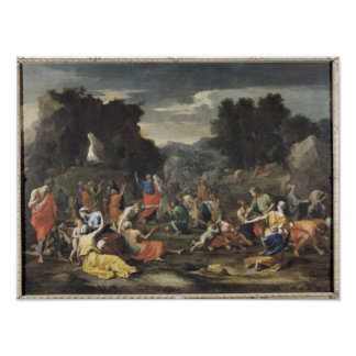 The Gathering of Manna, c.1637-9 Poster