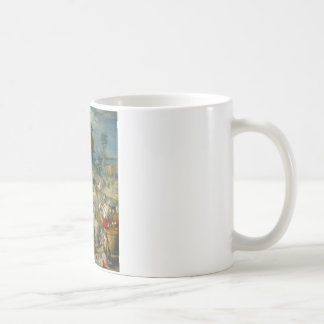 The Gathering of Manna - Francesco Bacchiacca Coffee Mug