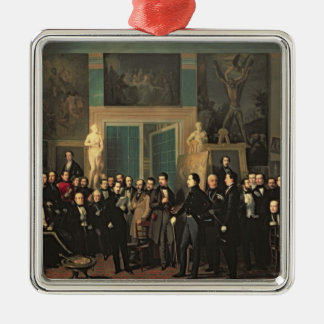 The Gathering of the Poets, 1846 Christmas Tree Ornaments