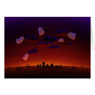 The Gathering Storm (Halloween Night) Card
