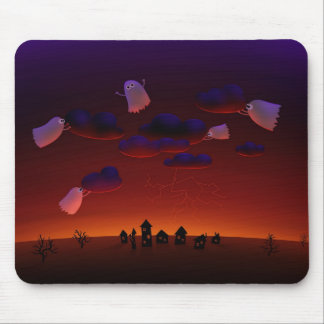 The Gathering Storm (Halloween Night) Mouse Pad