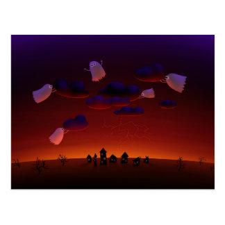 The Gathering Storm (Halloween Night) Postcard